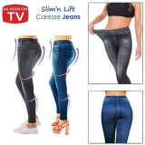 Colanti imitatie blugi Slim N Lift Caresse Jeans, As Seen On TV