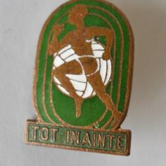 Insigna Pionier Pionieri - Tot Inainte - Pionier Sportiv