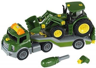 Trailer cu tractor John Deere - Klein foto