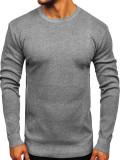 Pulover bărbați gri Bolf 8364