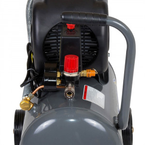 Compresor aer Stager, 24L, 2HP, 8Bar, 200 L/min, motor cupru