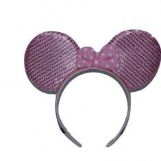Cordeluta pentru fetitecu urechi de Minnie-Midex E5366-R, Roz