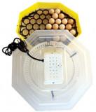 Incubator electric cu dispozitiv de intoarcere 41 oua gaina - 74 oua prepelita...