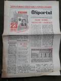 Ziarul Sportul din 21 august 1982