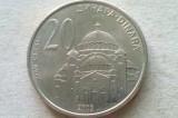 MONEDA 20 DINARI 2003-SERBIA, Europa