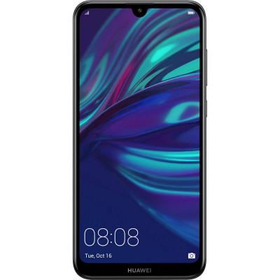 Smartphone Huawei Y7 Pro 2019 32GB 3GB RAM Dual Sim 4G Black foto