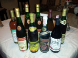 Vinuri vechi romanesti de colectie, anii 90, 17 sticle sigilate, Demi-sec, Alb, Rosu, Romania 1970- 2000