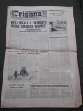 Ziar Crisana Oradea Bihor 31 martie 1976