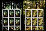Romania 2011, LP 1899 c, EUROPA - Paduri, pereche de minicoli, MNH! LP 89,70 lei, Natura, Nestampilat