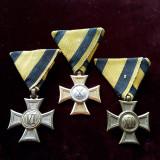 Colectie 3 decoratii, medalii vechi austro-ungare lot Austria Ungaria medalie