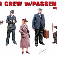 1:35 Tram Crew with Passengers - 5 figures 1:35