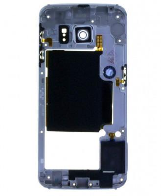 Mijloc Samsung Galaxy S6 edge SM G925 Albastru foto