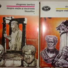 Despre vietile si doctrinele filozofilor an 1997/892pagini- Diogenes Laertios