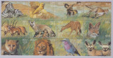 6-ANGOLA=Animale din Africa bloc de 12 timbre nestampilate MNH