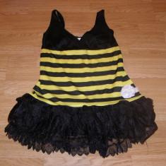 Costum carnaval serbare albina albinuta pentru adulti marime S, Din imagine