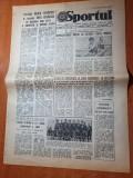sportul 30 iunie 1986-argentina campioana mondiala la fotbal