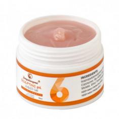 Gel UV pentru constructii unghii No.6 FSM, 15 g, Peach