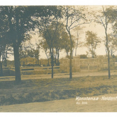 4358 - CONSTANTA, Cemetery, Romania - old postcard, real PHOTO - unused, Necirculata, Fotografie