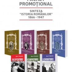"""Pachet Promo """"Sinteza Istoria Romanilor 1866-1947"""""""