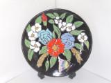 Cumpara ieftin Farfurie perete decorativa, Studio-Art, ceramica emailata cloisonne hand made
