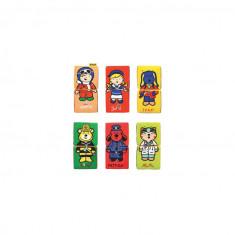 Set cuburi textile moi K's Kids Puzzle 6 piese