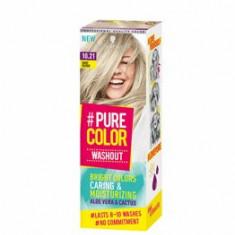 Vopsea de par temporara sub forma de gel hidratant, Pure Color Washout 10.21 Baby blond, 60 ml