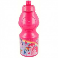 Sticla apa plastic My Little Pony SunCity, 400 ml