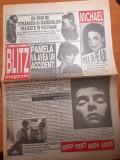 ziarul blitz nr 1 anul 1 -art michael jackson vrea sa fie alb,madona, demi moore