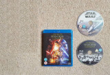 Star Wars The Force Awakens Blu Ray + bonus