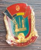 INSIGNA ROMANIA - BRIGADIER UTC, PERIOADA COMUNISTA