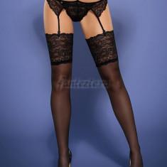 Frivolla stockings Obsessive, black - S/M