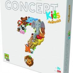 Board Game Concept Kids Animals