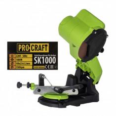 Masina de ascutit lanturi drujba, 1000W ProCraft SK1000, 5500rpm
