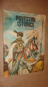 Povestiri istorice partea a doua cu ilustratii an 1987/102 pag- Dumitru Almas