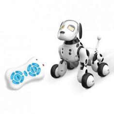 Robot de jucarie catel vorbitor cu radiocomanda si acumulator - Canta,danseaza,spune povesti