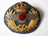 Rar! Semn de arma /Cuc cascheta pilot aviatia militara spaniola Franco anii 40