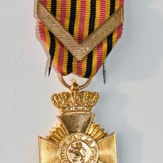 Decoratie Leopold Belgia L Union Fait la Force Merite Armee Anciennete