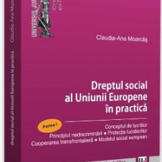 Dreptul social al Uniunii Europene in practica. Partea I - Claudia-Ana Moarcas