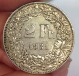2 Franci Elvetia 1931, Europa