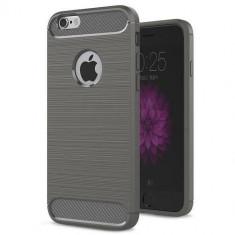 Husa Iberry Carbon Gri Pentru Iphone 66S6SE