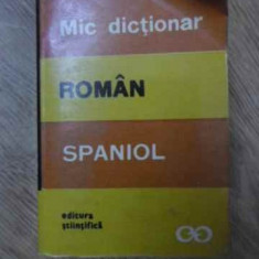 MIC DICTIONAR ROMAN-SPANIOL - CRISTINA ISBASESCU