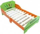 Pat Copii cu cadru din lemn Have Fun Green Crayon