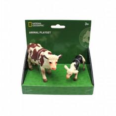Set 2 figurine - Vacuta si vitel PlayLearn Toys