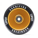 Roata Trotineta Sacrifice UFO 110mm + Abec 11 black gold