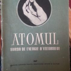 Atomul, sursa de energia a viitorului – Toth Imre