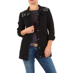 Jacheta sic, de culoare neagra, din denim - Naumy Jeans