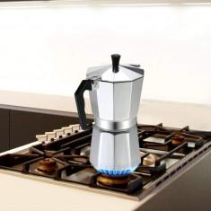 Espressor pentru aragaz, din aluminiu, capacitate 9 cești, Grunberg