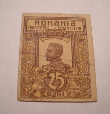 25 bani 1917 foto