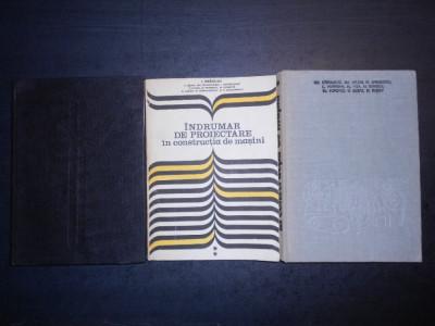IOAN DRAGHICI - INDRUMAR DE PROIECTARE IN CONSTRUCTIA DE MASINI  3 volume foto