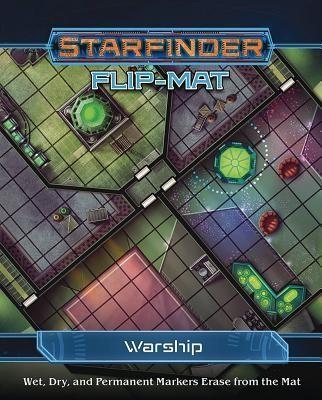 Starfinder Flip-Mat: Warship foto